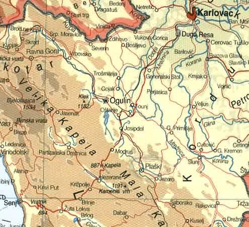 auto karta nemacke Osnovna škola Plaški   Lokacija auto karta nemacke